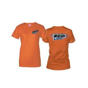 Ladies T-Shirt - Heather Orange
