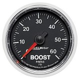 Autometer GS Series 0-60psi Boost Gauge