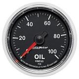 Autometer GS Series 0-100psi Oil Pressure Gauge