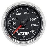 Autometer GS Series 140-280° Water Temperature Gauge
