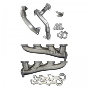 2006-2007 High Flow Exhaust Manifold With Up-Pipe LLY/LBZ
