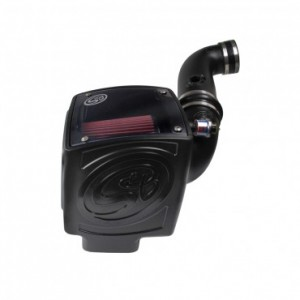 S&B Cold Air Intake Kit w/ Cleanable 8-ply Cotton Filter | 11-12 Chevy 2500/3500