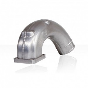 S&B Intake Elbow Uncoated/Raw   98-02 Dodge 2500/3500