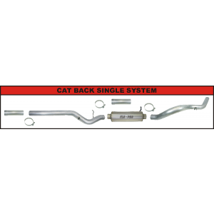 CAT Back Exhaust System   Single