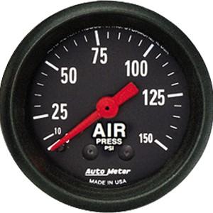 Autometer Z-Series 0-150psi Air Pressure Gauge
