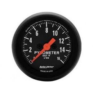 Autometer Z-Series 0-1600° Pyrometer Gauge.