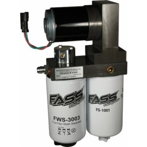 FASS Fuel Titanium Signature Series Lift Pump 165GPH 01-10 Chevy 6.6L Duramax